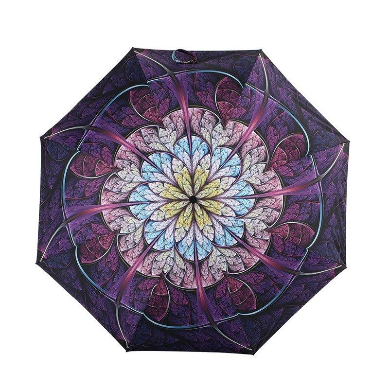6e414e042c74f [German kobold] Anti-UV Cooling 10-12 Degrees - Invisible Umbrella -  Multi-Purpose Mirror Sun Shade Cooling Umbrella - Double Folding Umbrella -  Blooming ...