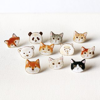 Small animals with earrings