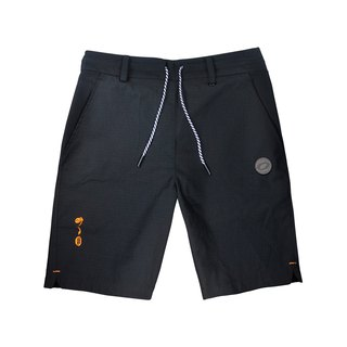 .67ARROW TALK-XIC_CARGO SHORTS_ Black Shorts