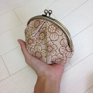119IV leather wallet 钱包,袋,钱包,球童,花,压花  purse, pouch, coin purse, glove compartment, flower, embossing