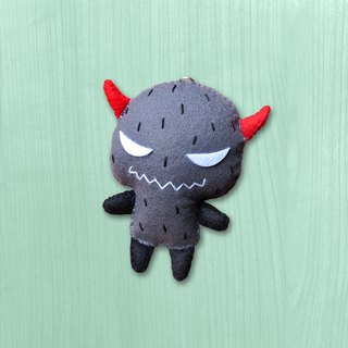 Handmade non-woven charms _ long-horned monsters..... mobile phone straps, key rings, bag charms