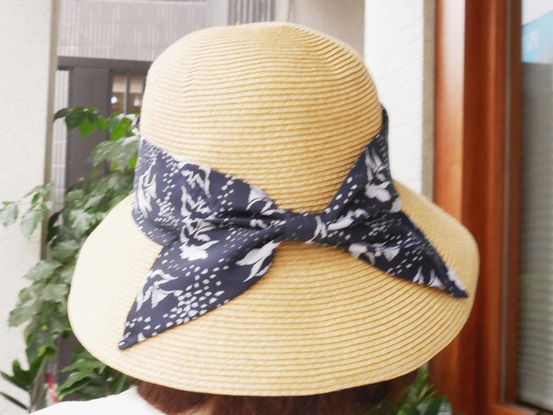 MIT浪漫海鷗蝴蝶結草帽(R7761F)