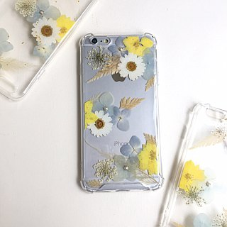 God of War Athena hydrangea flower phone shell