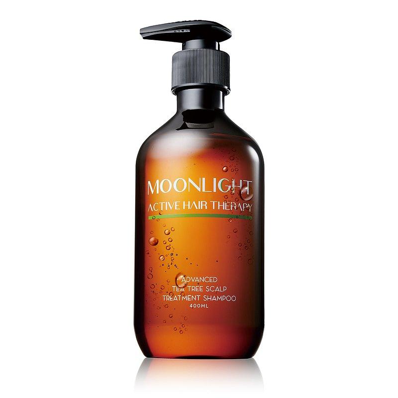 (買大送小)Moonlight 莯光 進化版茶樹控油淨化洗髮精 400 mL+50mL