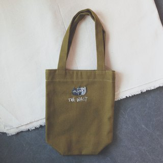 THE WAiiT Cheap Artist 刺繡帆布飲料袋