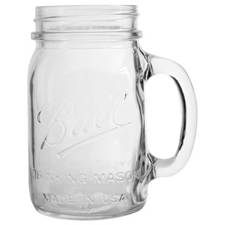 Ball Mason Jar Mason Jar _16oz narrow mouth mug