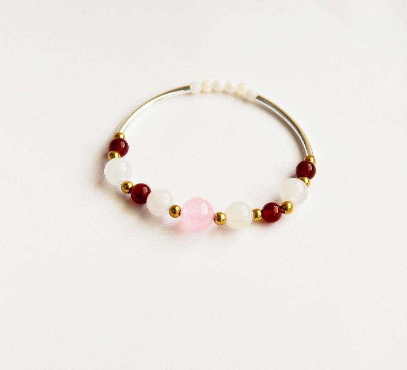 粉水晶Aphrodite 手環-公主的花冠