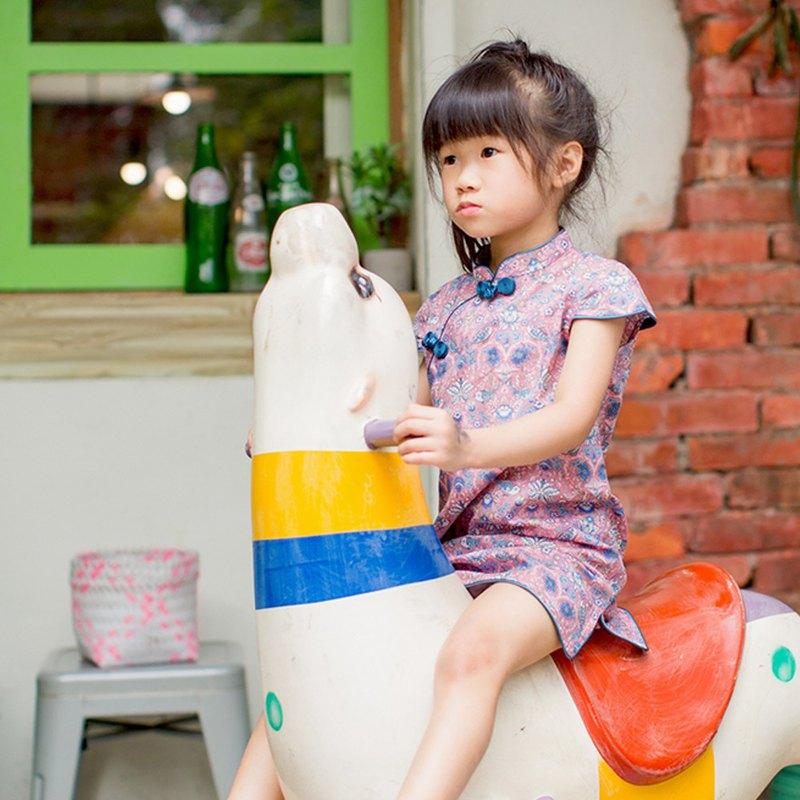 兒童旗袍 古風 四季款 年年有魚