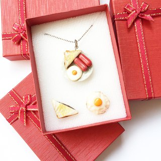 Breakfast jewelry Box set