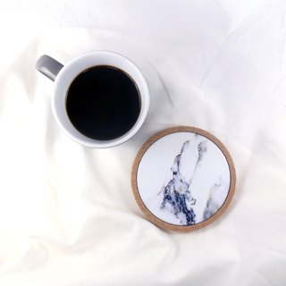 Marble Coasters Cork Cup Mat Table Decorations - Angela