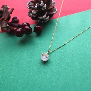 Snowflakes-Brass necklace