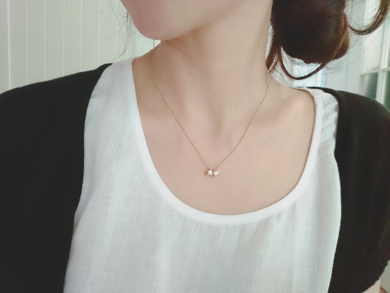 Necklace - Dotted Stars