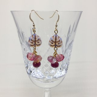 Sweet and crystal berries earrings