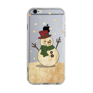 Christmas snowman - Samsung S5 S6 S7 note4 note5 iPhone 5 5s 6 6s 6 plus 7 7 plus ASUS HTC m9 Sony LG G4 G5 v10 phone shell mobile phone sets phone shell phone case