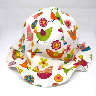 Tulip hat / birds