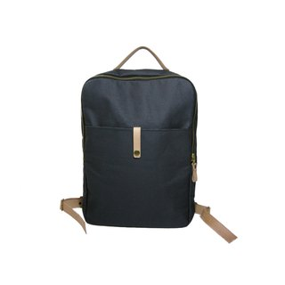 ● box after the green backpack (canvas) _ _ Zuo zuo hand leather backpack