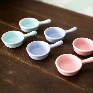 Constellation SECLUSION OF SAGE / pink three-color small dishes