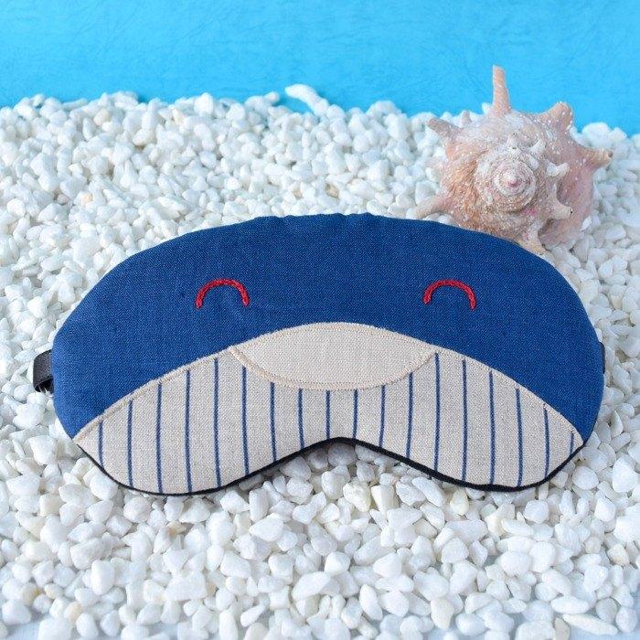 鯨魚 Blue 眼罩/旅遊/睡眠/端午節/