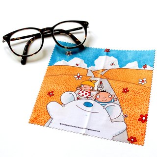 [Along the way] you big mud illustration glasses cloth
