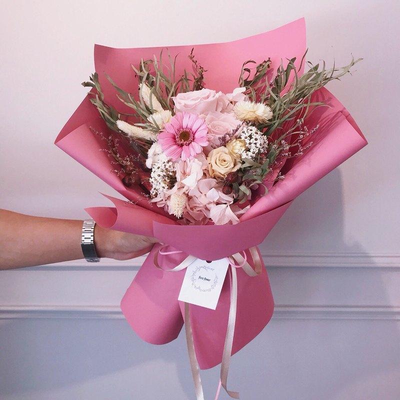 Marriage Bouquet - Gerbera Yongsheng Korean Bouquet Wedding Bouquet ...