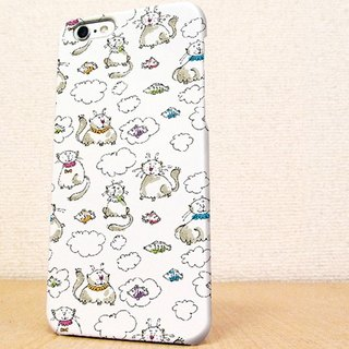 Free Shipping ☆ iPhone case GALAXY case ☆ heartwarming cat handwritten illustrations phone case