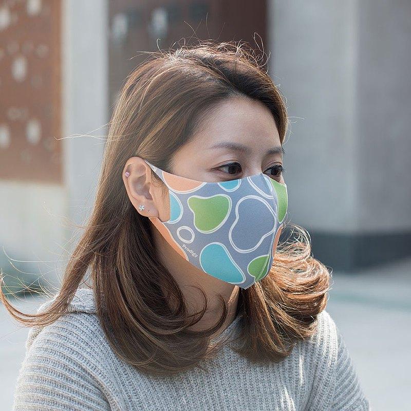 率性風格─3D立體透氣抗菌口罩