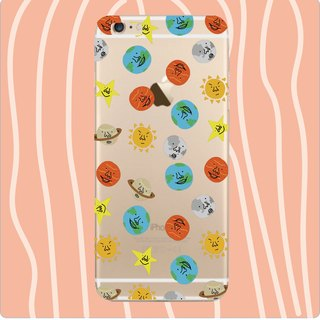 Mini Milky Way Planet - Phone Case