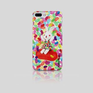 (Rabbit Mint) Mint Rabbit Phone Case - Bu Mali Candy Merry Boo Jelly Bean - iPhone 7 Plus (M0020)