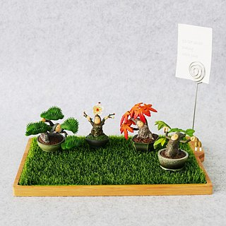 [Oushi OSHI] light grass storage tray healing garden Christmas exchange gift