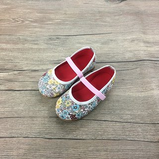Children's shoes garden pink
