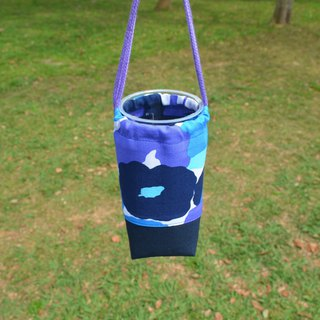 Flowers beverage bag/water bottle holder/beverage carrier/bunch pocket