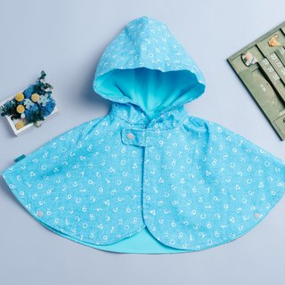 Double-sided cloak - light cow digital hand made non-toxic jacket baby children's clothing