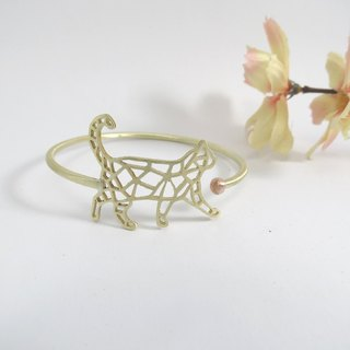 one cat Geometric bracelet