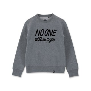 AMO  Original cotton adult Sweater /AKE/No one will miss you
