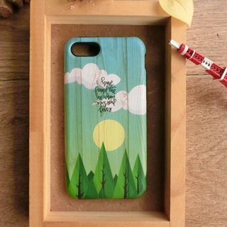 """Paintings on wood - Day"" / exclusive high-grade double anti-scratch DROP BUMPER CASE [APPLE iPhone full range / Samsung NOTE.S Series / LG G Series]"