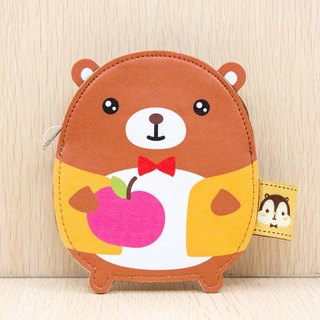 Bealy PU Leather Coin Bag with Card Slot - G007SQB