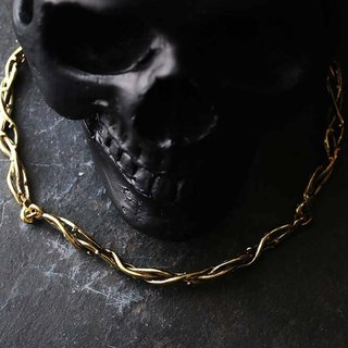 Thorn Crown Necklace by Defy, Unique Handmade jewelry Necklace.