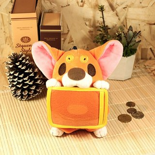 Corgi 椪 椪 ticket card purse