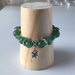 Lucky You Bracelet - Beads Precious Stones - Aventurine - for Men Ladies