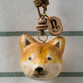Puppy pendant necklace / animal item 錬
