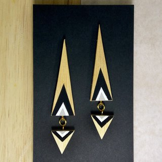 Triangle Earrings No.24