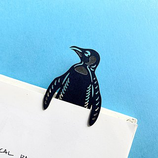 MARK TAIWAN Mai Mai Zoo - King Penguin (Paper Bookmark)