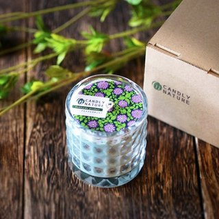 Hokkaido natural aromatherapy candle bottle peppermint