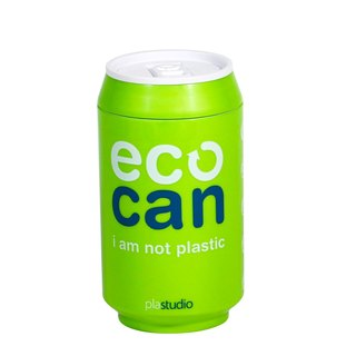 PLAStudio-ECO CAN-280ml-Made from Plant-Green