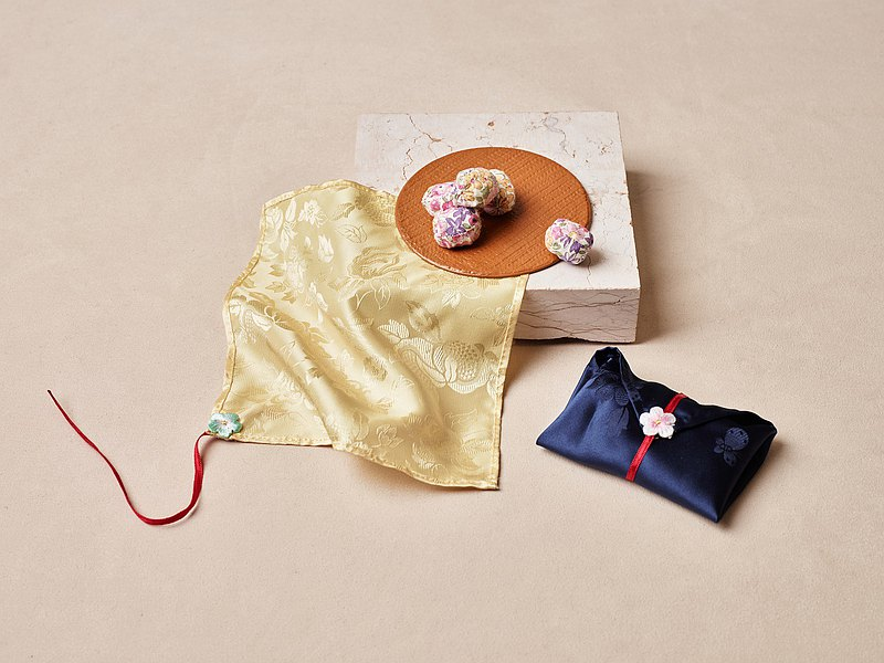 SONNEURO 手工製 絲綢做 韓國傳統拋石遊戲