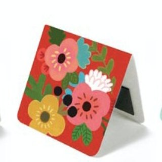 & Cabinet Magnet Bookmark - Cute Flower
