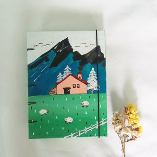 My peaceful house. Notebook Handmadenotebook Diary 筆記本
