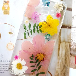 Pressed Flower Phone Cases, Samsung Galaxy A8 2018