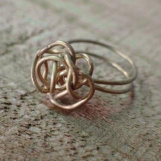 Lightup workshop - Rose ring, brass wire