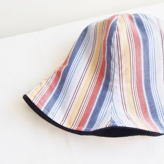 Stripe - Handmade Bucket Hat | Double sided